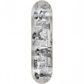 DGK Skateboards Stevie Williams Apocalypse Skateboard Deck Bundle of 2 Items 7.8 x 31.25 with Jessup Black Griptape