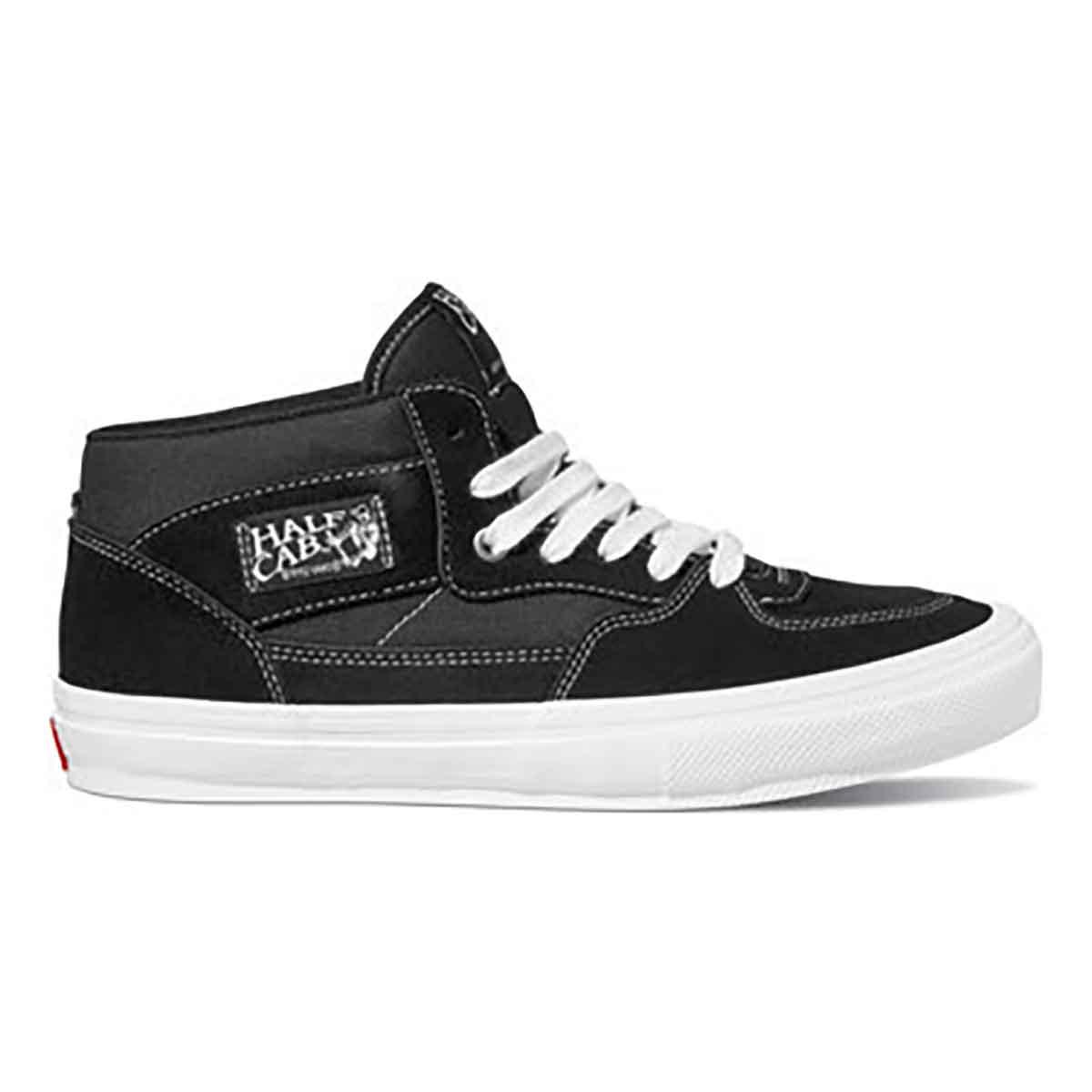 Vans Skate Half Cab Pro Shoes - Black/White