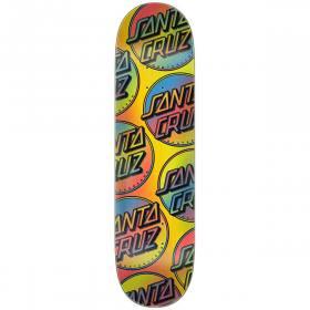 SANTA CRUZ Skateboard Chaussettes Tie Dye Taille unique UK 6-9 env. orange
