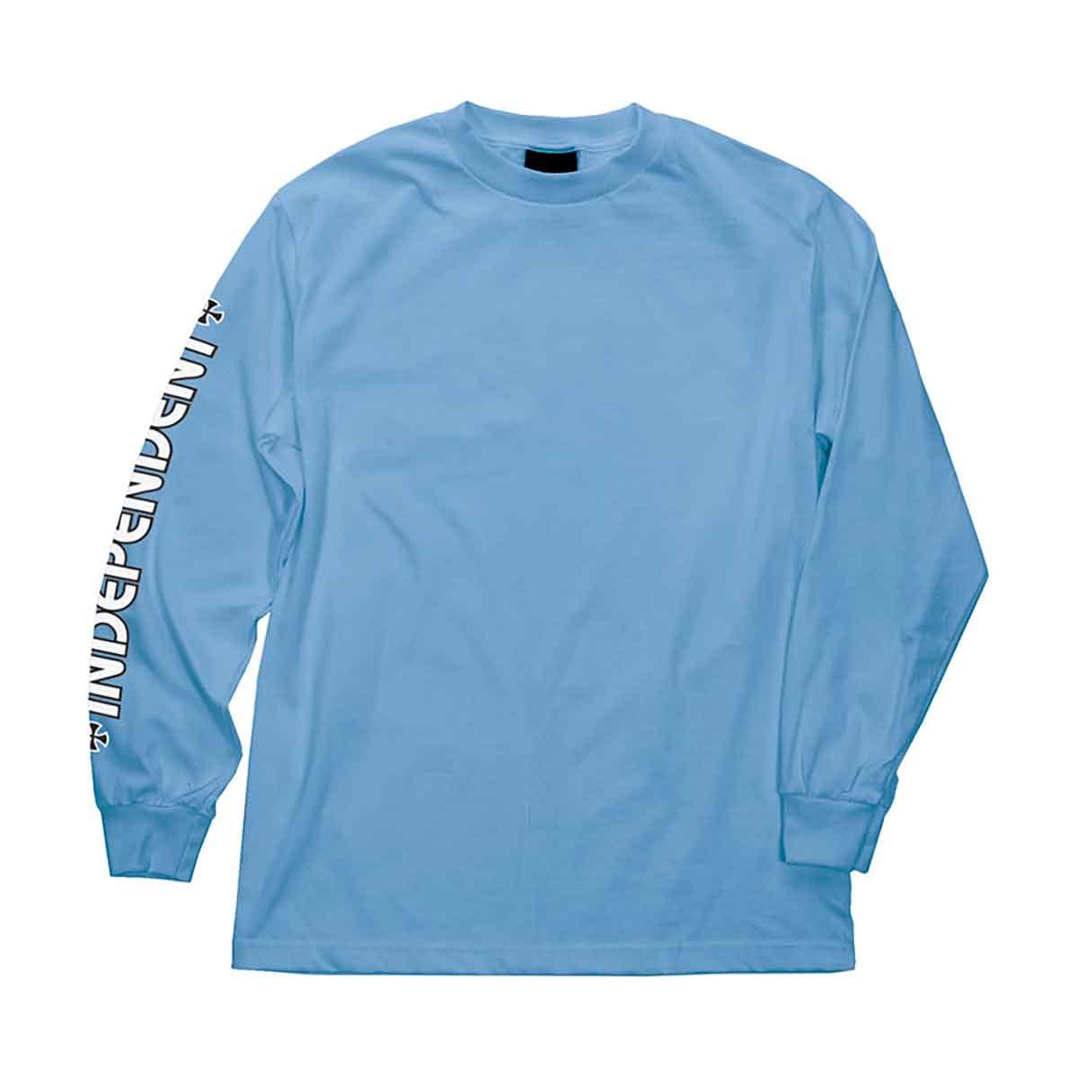Independent Trucks OGBC LOGO Skateboard Shirt CAROLINA BLUE MEDIUM
