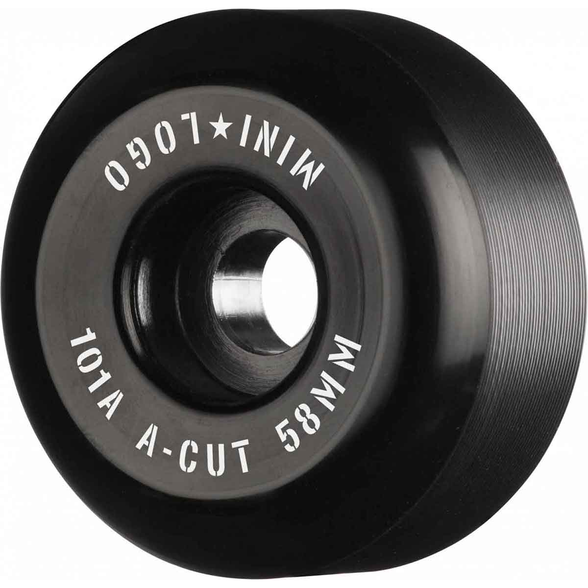 Mini Logo A-Cut Red Skateboard Wheels Set of 4 54mm 101a