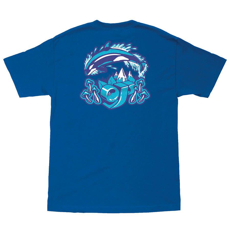 Santa Cruz OJs OJ2 SPEEDWHEELS POCKET Skateboard T Shirt WHITE XL