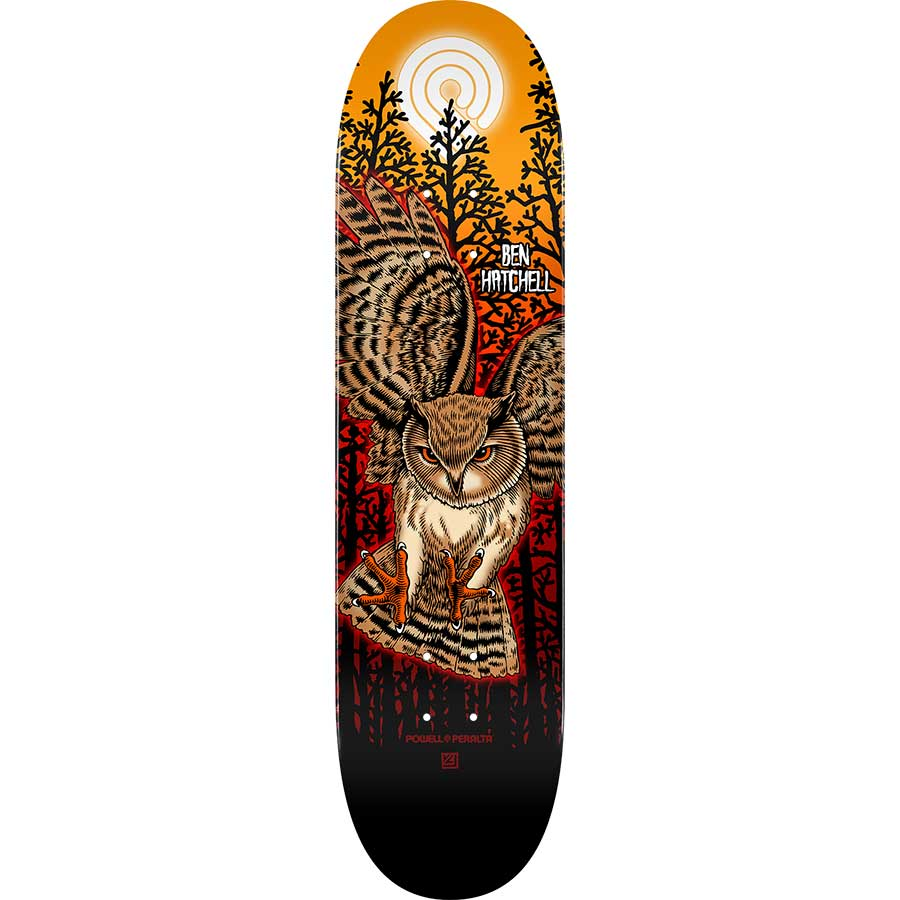 "Powell Peralta Ripper Skateboard Deck 243-8.25/"" Blue"