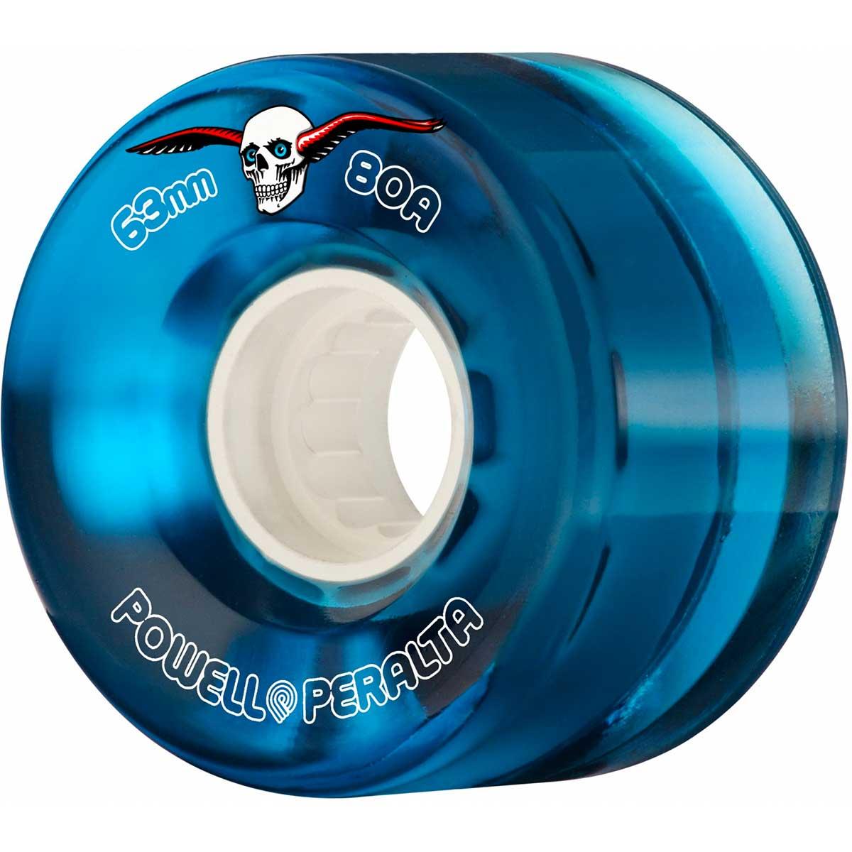 Powell-Peralta Clear Cruisers Blue 69mm Wheels
