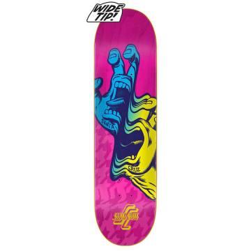 "SANTA CRUZ Skateboard Deck VX Baked Blossom 8.25/"" with Quad X Technology"