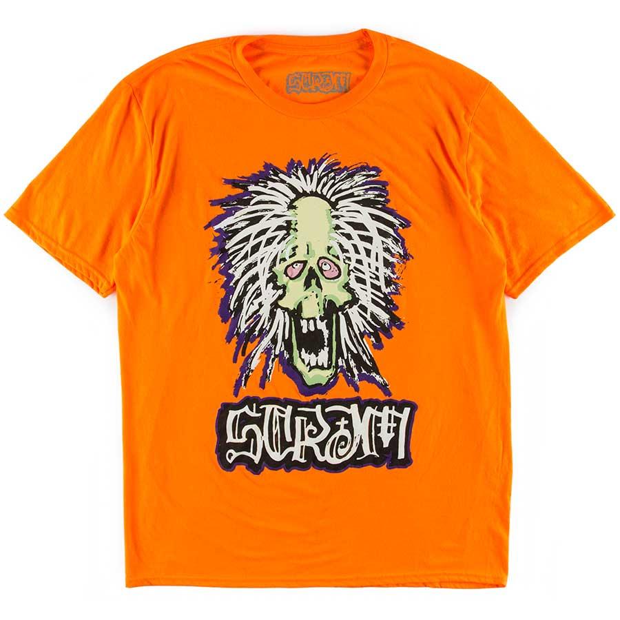 la meilleure attitude 3984b 48ce1 Scram Earthskii Gravedigger T-Shirt - Orange