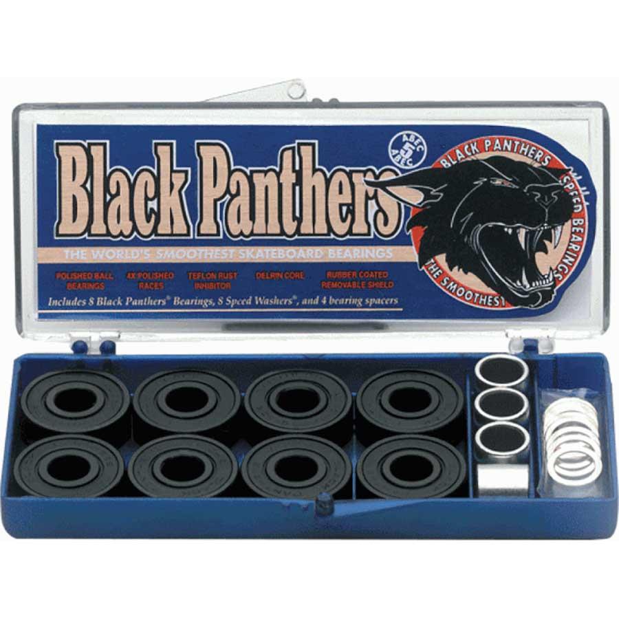 Black Panther ABEC 5 Bearings