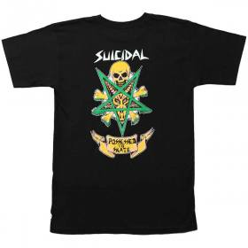"Dogtown Suicidal Tendencies DTST Possessed To Skate Sticker 4.25/"" x 3.25/"" Black"