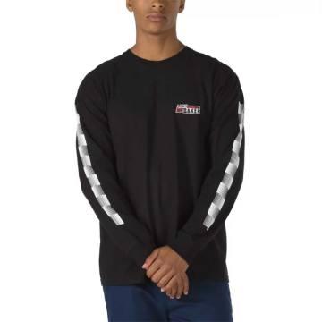 Black Primitive Speed Long Sleeve T-Shirt-Large