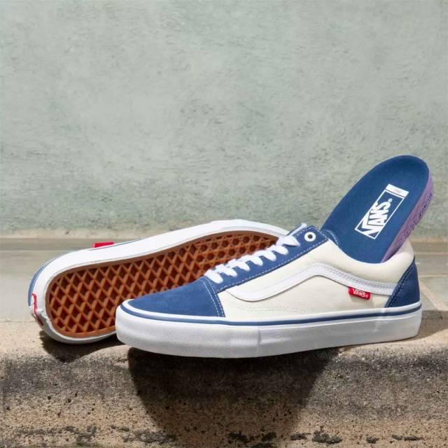 Vans Old Skool Pro Shoes - STV Navy