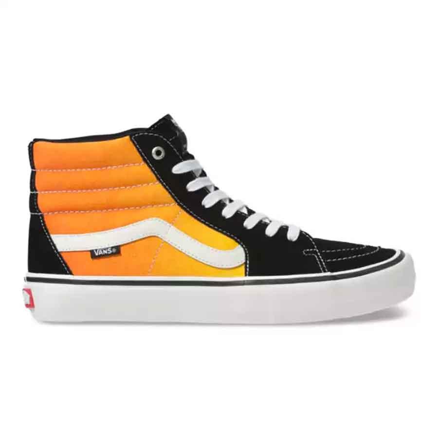 Vans SK8-HI Pro Shoes - (Fade) Black