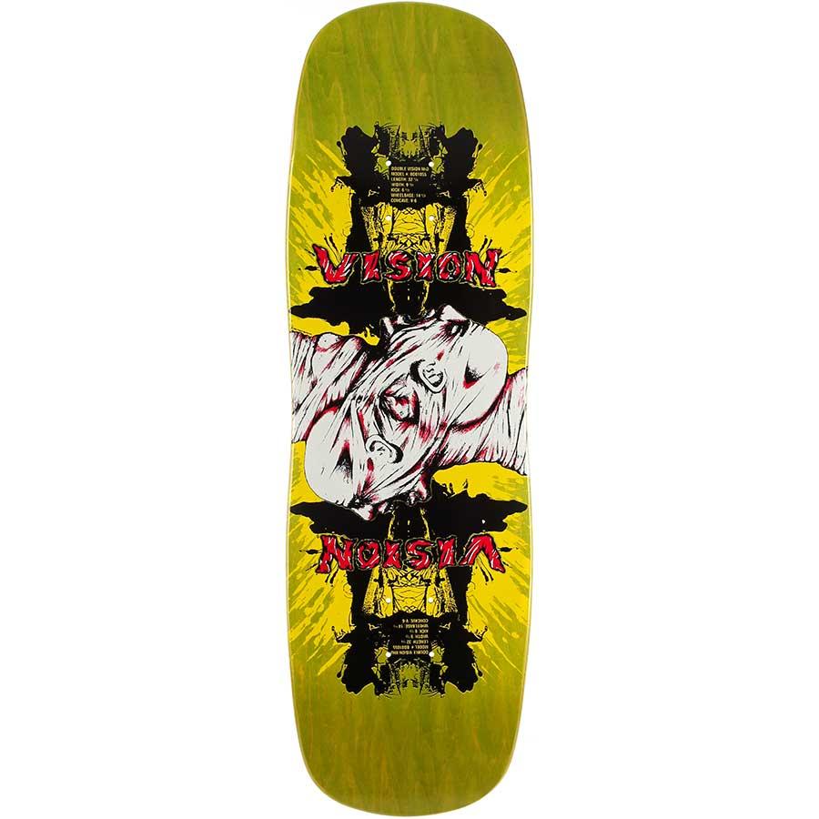 "Vision Psycho Brand 14.5/"" Skateboard Rails GREEN"
