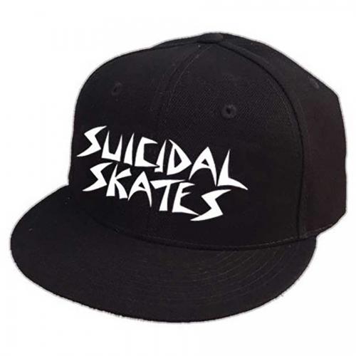 amazing price best website nice cheap Suicidal Skates Embroidered Snapback Hat - Black   SoCal Skateshop