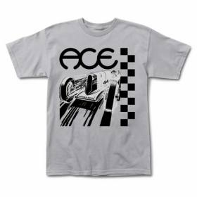 Ace Trucks RINGS LOGO Skateboard T Shirt BLACK XL