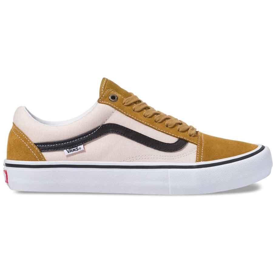 Vans Old Skool Pro Shoes - Cumin/Black