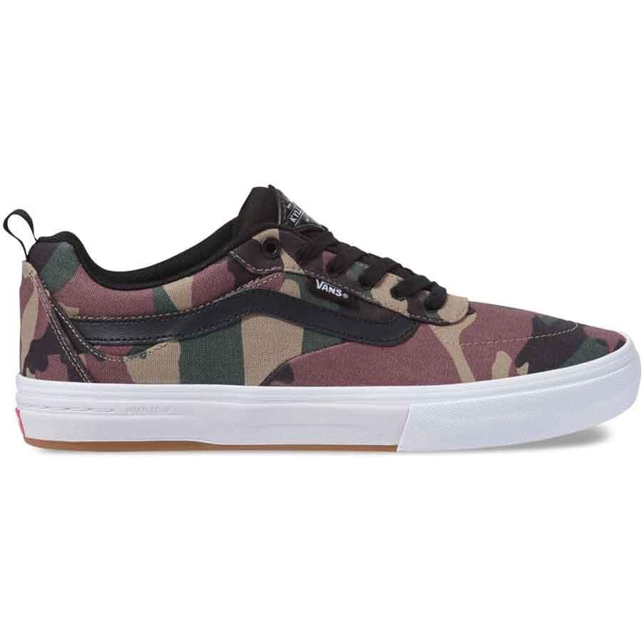Vans Kyle Walker Camo Pro Shoes - Black